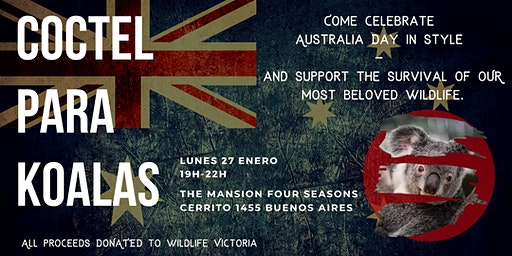 Coctel para Koalas  // Australia Day Cocktail Bushfire Appeal