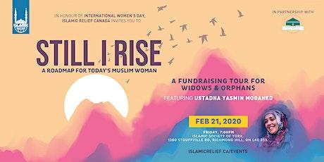 Still I Rise ft Ustadha Yasmin Mogahed · Richmond Hill tickets
