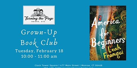 Feb: Morning Grown-Up Book Club tickets