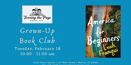 Feb: Morning Grown-Up Book Club