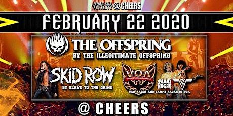 Skid Row / Van Halen / Sammy Hagar /The Offspring /Tribute Bands tickets