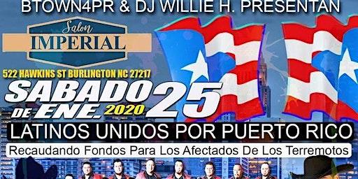 Latinos Unidos Por Puerto Rico Salon 2 Noche de Bandas/Regional