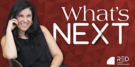 Déjeuner-conférence - What's Next billets