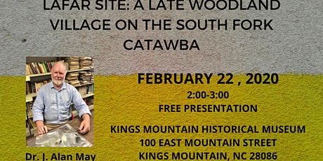 LaFar Site: A Late Woodland Village on the South Fork Catawba tickets