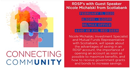 Connecting CommUNITY - RSDP's with Nicole Michalski from Scotiabank tickets