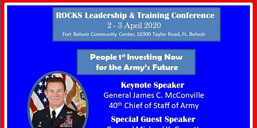 ROCKS Leadership Conference - People #1: Investing Now in The Army's Future