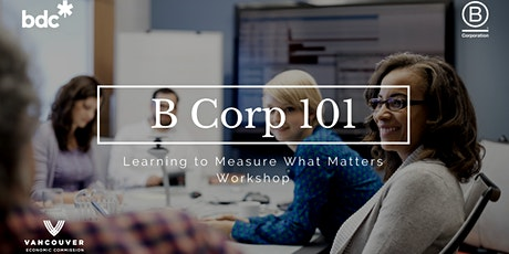 B Corp 101 – Learning to Measure What Matters tickets