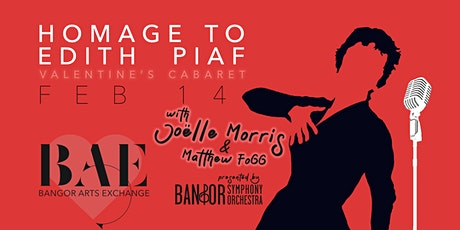 Homage to Edith Piaf: Valentine's Cabaret with Joëlle Morris & Matthew Fogg tickets