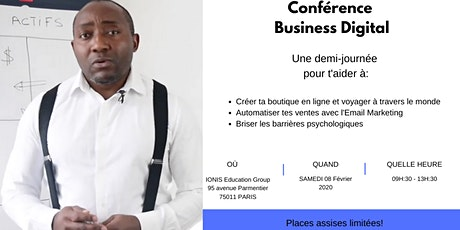 Conférence Business Digital billets