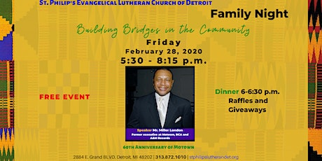 Family Night | Building Bridges in the Community tickets