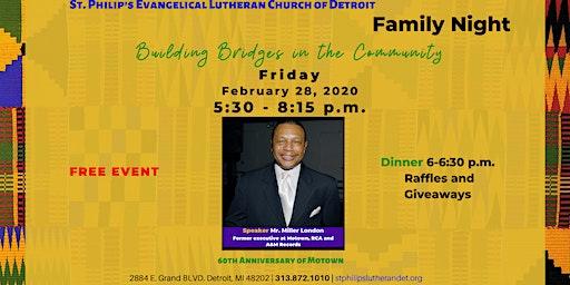 Family Night | Building Bridges in the Community
