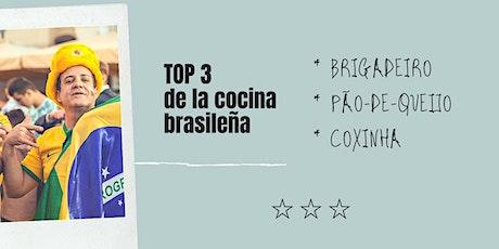 cocina brasileña, brigadeiro, pão-de-queijo y coxinha entradas