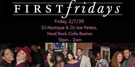 First Fridays Boston 2/7/20 (1990's vs 2000's R&B & Hip Hop) tickets