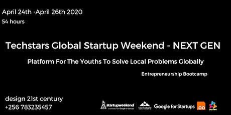 Global Startup Weekend Next Gen-Techstars  Kampala tickets