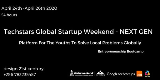 Global Startup Weekend Next Gen-Techstars  Kampala