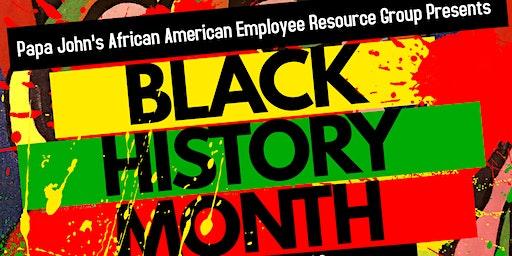 Papa John's Black History Month Kick-Off Mixer
