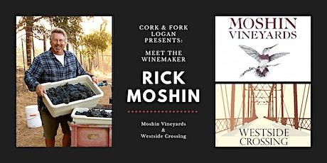 Winemaker Masterclass: Rick Moshin, Moshin and Westside tickets