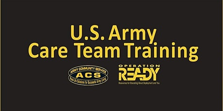 OPREADY Care Team Training tickets