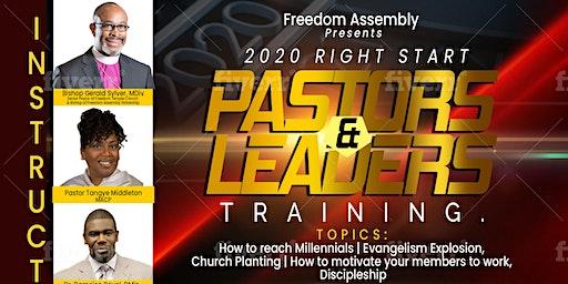 2020 Right Start Pastors & Leaders Training