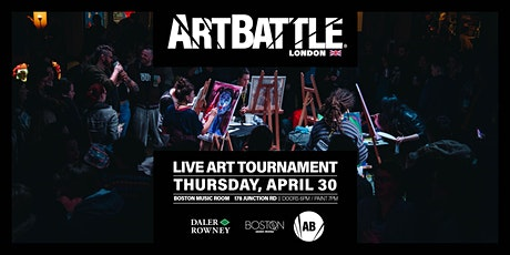 Art Battle London - 30 April, 2020 tickets