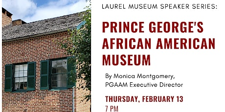 PG African American Museum tickets