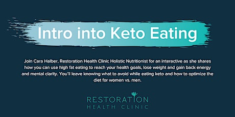 Intro into Keto Eating tickets
