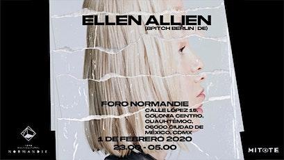 Ellen Allien en CDMX |Noches Electrónicas Informa boletos