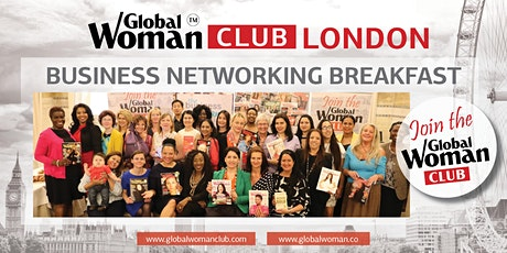 GLOBAL WOMAN CLUB LONDON: BUSINESS NETWORKING EVENING EVENT - FEBRUARY tickets