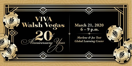 Viva Walsh Vegas turns 20! tickets