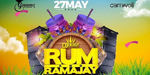 "RUM AND RAMAJAY BY DJ ENERGY ""Guyana Carnival"""