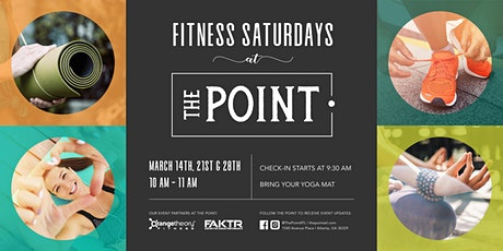 Fitness Saturdays at The Point tickets