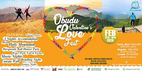 OBUDU VALENTINE'S LOVE FEST tickets