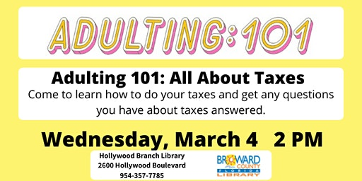 Adulting 101: All About Taxes