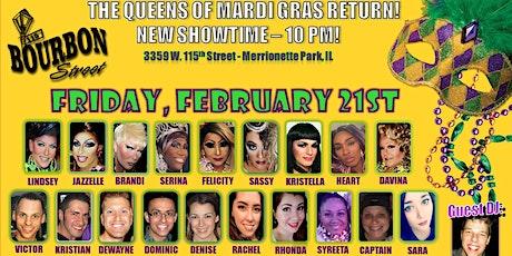 Queens of Mardi Gras Show tickets