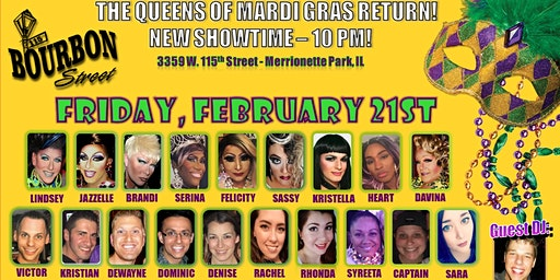 Queens of Mardi Gras Show