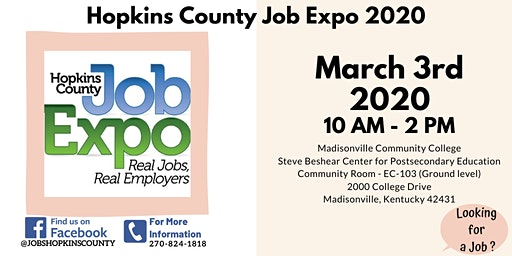 Hopkins County Job Expo 2020