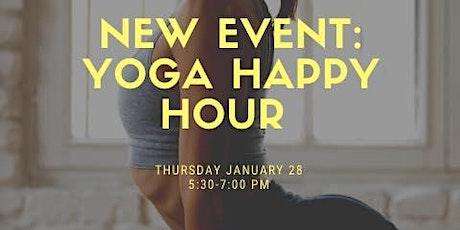 Yoga Happy Hour tickets