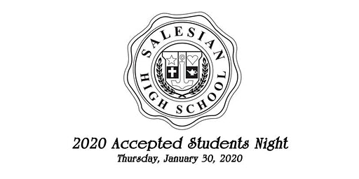 Salesian High School Accepted Students' Night 2020