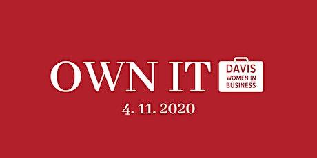 Davis OWN IT 2020 tickets