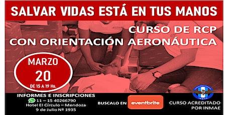 Curso de RCP con orientación aeronáutica tickets