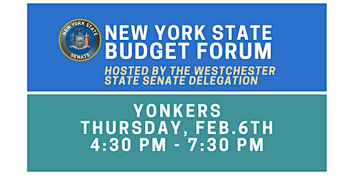 Budget Forum in Yonkers Hosted by the Westchester State Senate Delegation