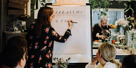 WORKSHOP: Modern Calligraphy for Beginners tickets