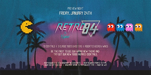 Retro84 VIP Preview at Switch
