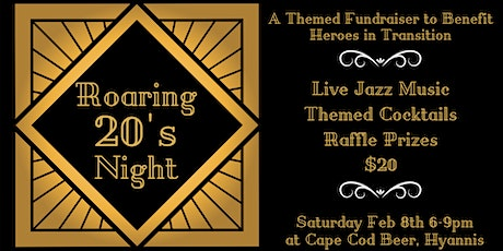 Roaring 20's Night to Benefit Heroes in Transition tickets