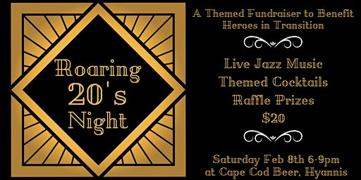 Roaring 20's Night to Benefit Heroes in Transition