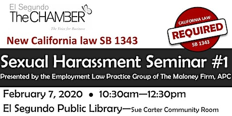 Sexual Harassment Training February 7 2020 tickets