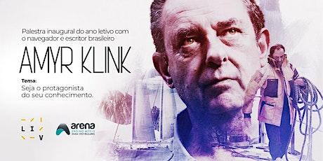 Palestra  Amyr Klink - Colégio Arena ingressos