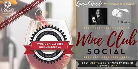 #WINEsday   J. Wilkes Wine & February Wine Club Wine tickets