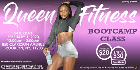 Queen Fitness Bootcamp Class tickets