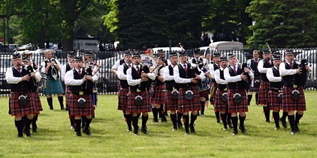 A CELTIC SPRING FLING WITH PEEL REGIONAL POLICE PIPE BAND billets